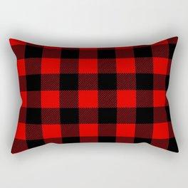 Plaid Rectangular Pillow