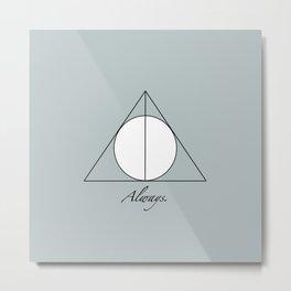 HP, Always. Metal Print