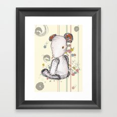 Mr Ted Framed Art Print
