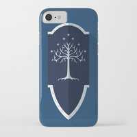 gondor iPhone & iPod Cases featuring Shield of Gondor by DWatson