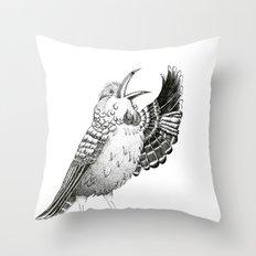 Tui Bird Throw Pillow