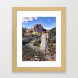 Ogre's Daughter Framed Art Print