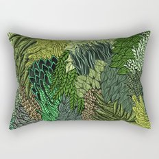 Leaf Cluster Rectangular Pillow