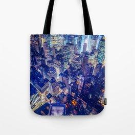 New York city night color Tote Bag