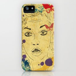 Shocked! iPhone Case