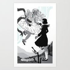 Magical Girls Art Print