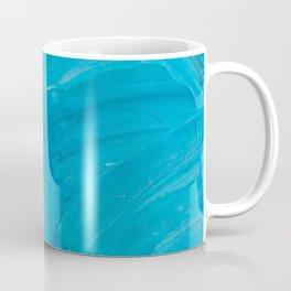 Blue Swipes Coffee Mug