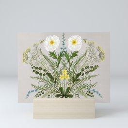 Poppy and Primrose Mini Art Print