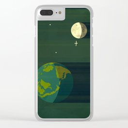 65 million year old sunshine Clear iPhone Case