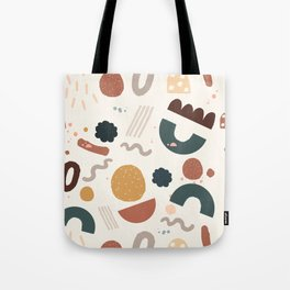 Geo Shapes Party Tote Bag