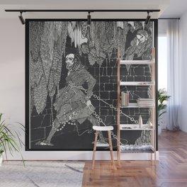 The Cask of Amontillado by Harry Clarke Wall Mural