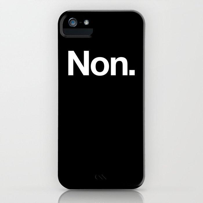 Non iPhone Case