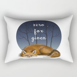 zero fox given! Rectangular Pillow