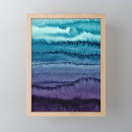 WITHIN THE TIDES EARLY SUNDOWN by Monika Strigel Framed Mini Art Print