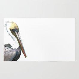 Pelican Portrait Rug