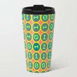 Bits pattern Travel Mug