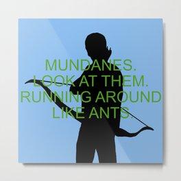 Alec Lightwood - Mundanes Metal Print