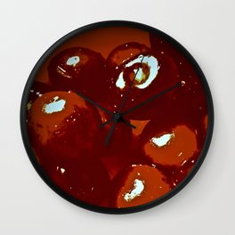 Cerise Wall Clock