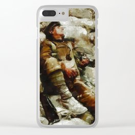 In The Trenches, WWI Clear iPhone Case