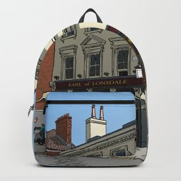 Pigeons Over London Backpack