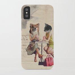 Gozer Gets Brunch iPhone Case