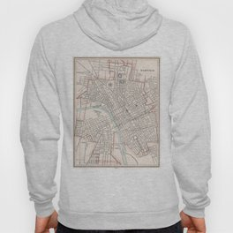Vintage Map of Nashville Tennessee (1901) Hoody