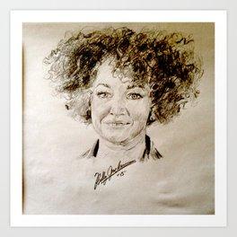 Rachel Dolezal Art Print