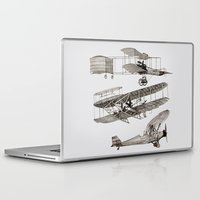 airplanes Laptop & iPad Skins featuring airplanes 3 by Кaterina Кalinich
