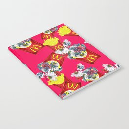 Botanical Mcdonalds Sweet-Rose Notebook