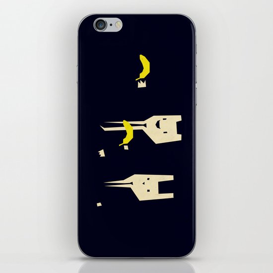 Pulp banana iPhone & iPod Skin