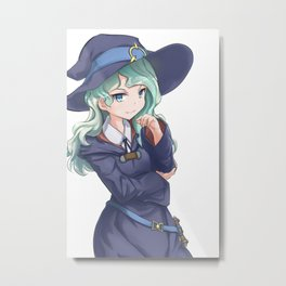 Little Witch Academia  Metal Print