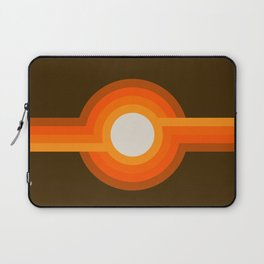 Golden Sunspot Laptop Sleeve