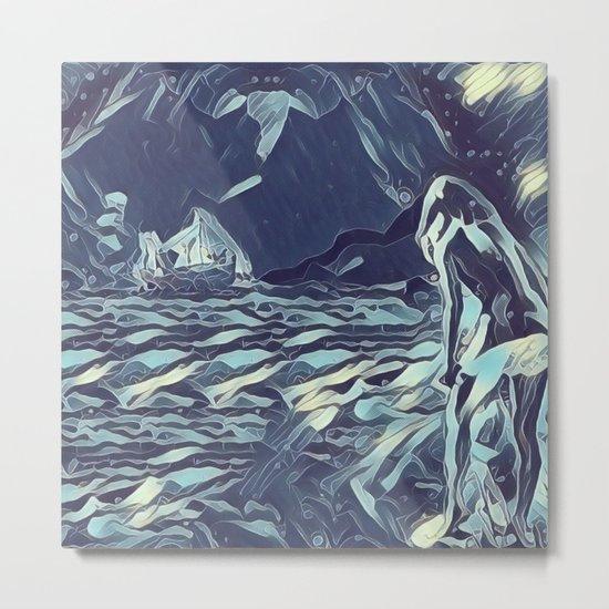 Isla de la Luna Metal Print