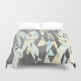 Abstract night party shapes Duvet Cover