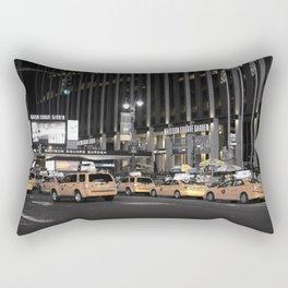 NY Taxis Rectangular Pillow