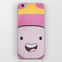 princess bubblegum iPhone & iPod Skins featuring Princess Bubblegum by Some_Designs