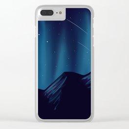 Meteorite Mountain 2 Clear iPhone Case