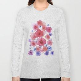 Caramel flowers Long Sleeve T-shirt
