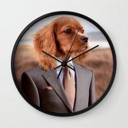 My Boss and Best Friend Wall Clock