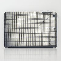 grid iPad Cases featuring Grid by farsidian