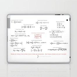 High-Math Inspiration 01 - Red & Black Laptop & iPad Skin