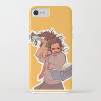 hermione iPhone & iPod Cases featuring Hermione (yellow) by batcii