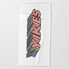 YIKES Beach Towel