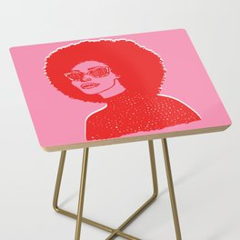Kara Pink Side Table