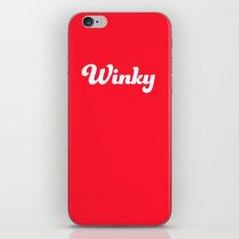 Winky iPhone Skin