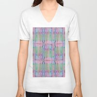 discount V-neck T-shirts featuring Many windows - Many stories by Roxana Jordan