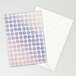 Roses pattern V Stationery Cards