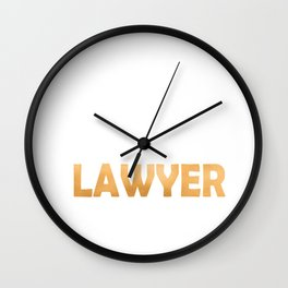 Keep Calm And Let The Lawyer Handle It - Attorneys Gift design Wall Clock