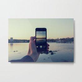 iPhoneogrpahy Metal Print