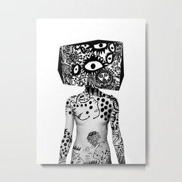 Kusama Yayoi Metal Print